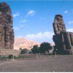 Memnonstatyerna. Luxor (U)