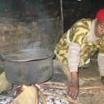 Matlagning. Bora