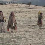 Barfota trots frost! Simien Mountains
