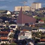 Vy över huvudstaden Torshavn