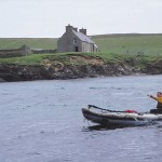 Färjan till ön Noss