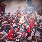 Målning av slaget vid Culloden