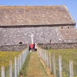 Den gamla kyrkan. Port Nis. Lewis