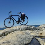 Cykling. Ersdalen. Hönö
