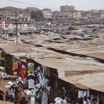 Marknaden. Kumasi