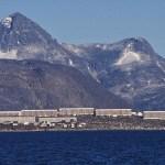 Vy över huvudstaden Nuuk