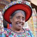 Kvinna. Santiago de Atitlan