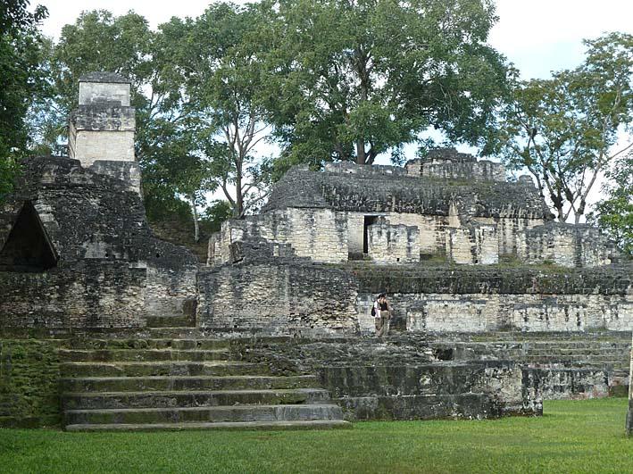 Acropolis Central. Tikal