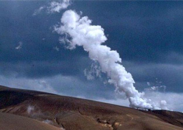 Geothermisk aktivitet. Kraflaområdet