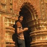 Man i tempel. Bishnupur