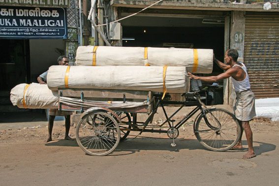 Mattransport. Chennai