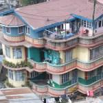 Vackert hus. Darjeeling