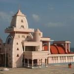 Ghandimonumentet. Kannayakumari