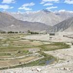 Vy från Nubra Valley