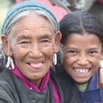Två generationer. Nubra Valley