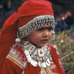 Flicka från Himachal Pradesh