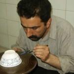 Porslinsmålare. Yazd