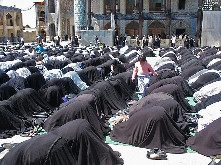 Bönestund. Shiraz