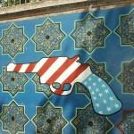 Väggmålning. Teheran