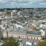 Vy från Fort Regent. St Helier
