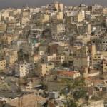 Vy över staden Amman