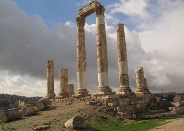 Herkules tempel. Amman