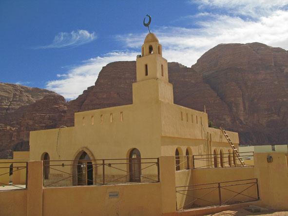 Kyrkan. Wadi Rum Village