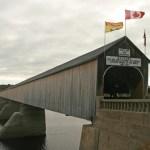 Världens längsta täckta träbro. Hartland (NB)
