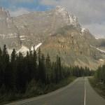 Vy från Icefield Parkway (U)
