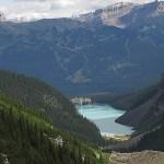 Vy över sjön. Lake Louise (U)