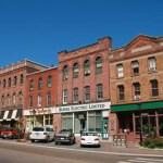 Stadsmiljö. Charlottetown (PEI)