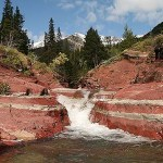 Red Rock Canyon. Waterton Lakes National Park (U)