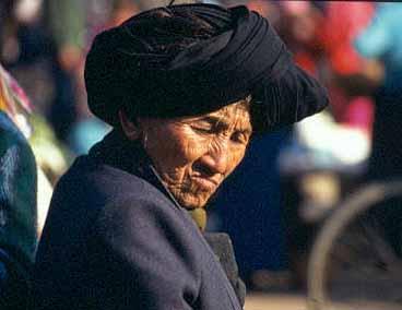 Bulangkvinna. Menghun