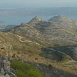 Bergsväg. Starigrad Paklenica