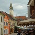 Stadsdelen Gradec. Zagreb