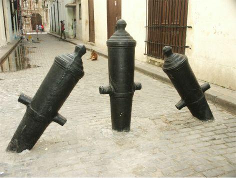 Gatuavspärrning. Havanna (U)