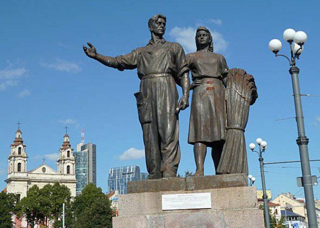 Proletärstaty. Vilnius