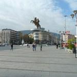 Stora torget. Skopje