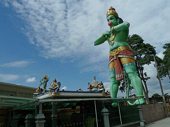 Apguden Hanuman. Batu Caves