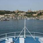 Inloppet till Mgarr. Gozo