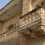 Vacker balkong. Xewkija. Gozo