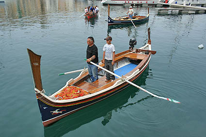 Roddbåt. Senglea
