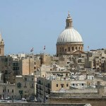 Vy över Valletta (U)