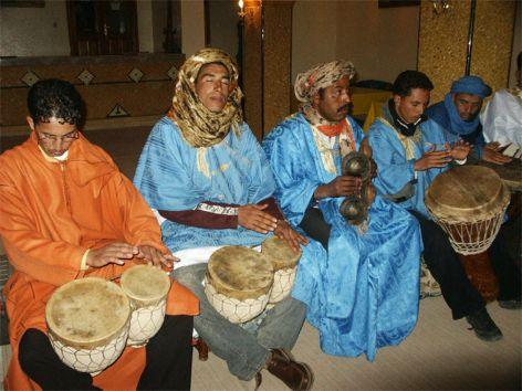 Musikgruppen Noumadosse. Boumalne du Dades