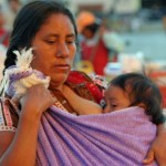 Indiankvinna. San Cristóbal de las Casas
