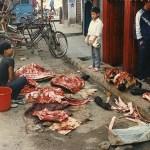 Köttförsäljning. Kathmandu