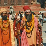 Heliga män, Durbar Square. Kathmandu (U)