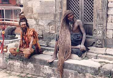 Fyraaring ny gudinna i nepal