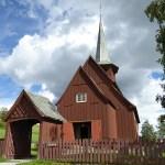 Stavkyrkan. Hegge