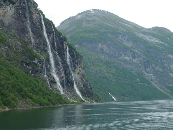 """""""De sju systrarna"""". Geirangerfjorden (U)"""